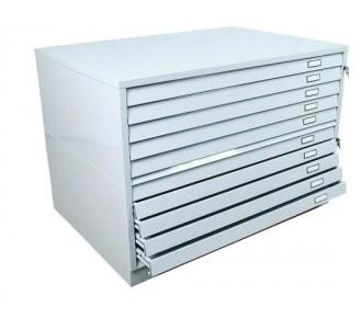 Meuble plans 8 tiroirs a1 museodirect le portail - Meuble pour hotte tiroir ...