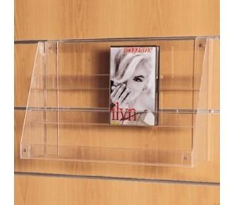 DESTOCKAGE - Porte brochure plexi ·3 niveaux