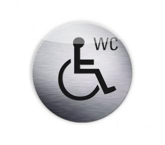 DESTOCKAGE - Silhouette ·Handicapé WC